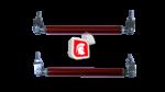 Barra Sujeta Bumper 0263 red
